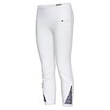 Leggings mit Pailletten 55cm, weiß