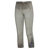 Leggings mit Pailletten 55cm, khaki