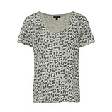 Shirt im Animal-Look, salbei