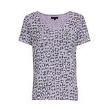 ONLINE EXKLUSIV: Shirt im Animal-Look, lilac