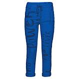 Hose im Alloverprint, blue glow