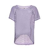 Shirt mit Netz-Optik, lilac