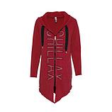 COSY Sweat-Jacke mit Ziersteinen, santa
