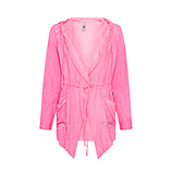 Jacke mit offener Front, pink glow