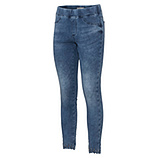 Jeggings mit Glitzersteinen 70cm, blue denim
