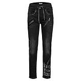 Jeans im rockigen Look 72cm, black