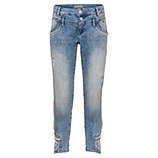 Jeans mit Perlen 64cm, light blue denim