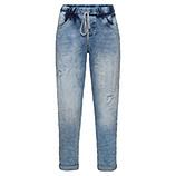 Schlupf-Jeans mit Ziersteinen 64cm, bleached denim