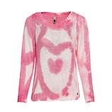 Strickpullover mit Herz, pink
