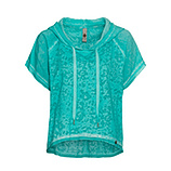 Shirt mit Camouflage-Optik, ocean