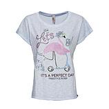 *ONLINE EXKLUSIV* Shirt mit Flamingo, eiskristall