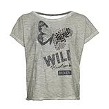 Shirt mit Rückenausschnitt, salbei