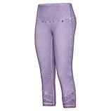 Leggings mit Häkelspitze, lilac
