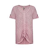 Shirt mit Tunnelzug, pink salt