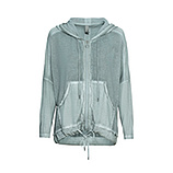 Shirt-Jacke in Strick-Optik, sea salt