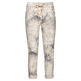 COSY Hose mit Alloverprint, sand