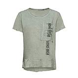 Shirt mit Brusttasche, salbei