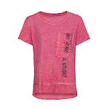 Shirt mit Brusttasche, sorbet