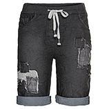 Shorts mit Patch, black