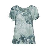 Bluse in Camouflage-Optik, sea salt