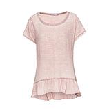Shirt in Musselin-Stoff, pink salt