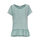 Shirt in Musselin-Stoff, sea salt