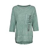 Shirt mit Brusttasche, sea salt