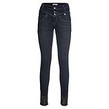 Jeans mit Ziersteinen, dark blue denim