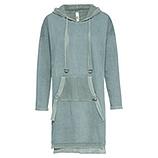 Sweat-Kleid mit Netz, sea salt