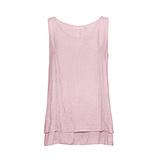 Blusentop im Layering-Look, pink salt