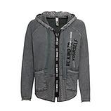 Shirt-Jacke mit Netzdetails, eiffelturm