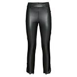 Hose aus Veggie-Leder 62cm, schwarz