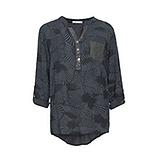 Bluse in Batik-Optik, magnet