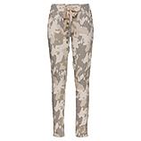 COSY Hose mit Camouflage-Optik, sand