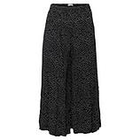 Hosenrock mit Punkten, schwarz