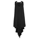 Kleid mit Eingrifftaschen, schwarz