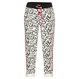 COSY HomeWear Pant, schwarz-weiß