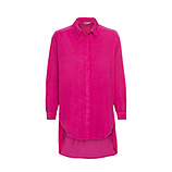 Boyfriend Baby-Cord Hemd, pink glow