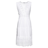 ONLINE EXKLUSIV: Kleid, weiß