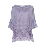 ONLINE EXKLUSIV: Bluse mit Stickerei, lilac
