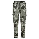 Cargo-Hose in Camouflage-Optik 68cm, khaki