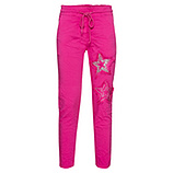 COSY Hose mit Stern-Patch, pink glow