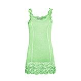 "Basic Top ""ANNA"" Viskose, green glow"