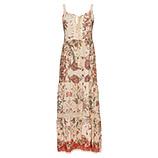 Maxi-Kleid im Boho-Schick, offwhite