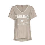 Shirt 'Lieblingsmensch', sand