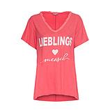 Shirt 'Lieblingsmensch', sorbet