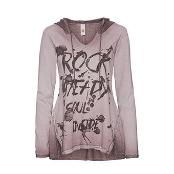 Sweatshirt mit Frontprint, antikrose