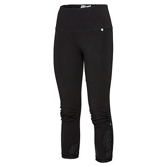 Baumwoll-Leggings 55cm, schwarz