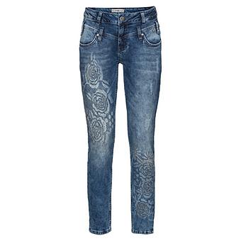 Jeans mit Steinchen 72cm, denim