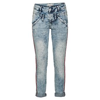 Jeans mit Galonstreifen 72cm, denim